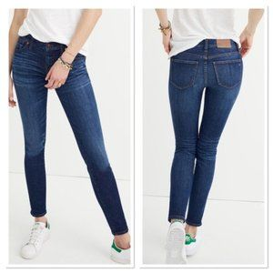 """MADEWELL 8"""" skinny jeans riverdale wash f9016"""